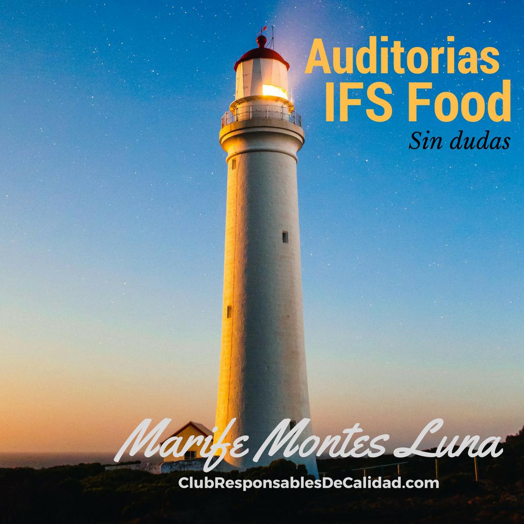 ¿Cómo hacer una auditoria bajo IFS Food? - Club Responsables de Calidad Cursos en Calidad y Seguridad Alimentaria