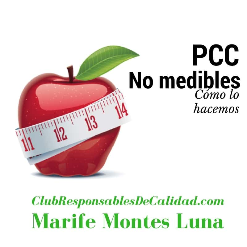 PCC no medibles