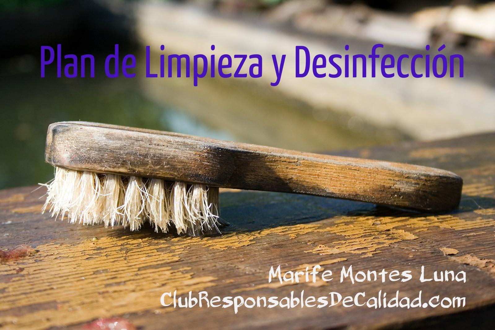 Plan de limpieza y desinfeccion