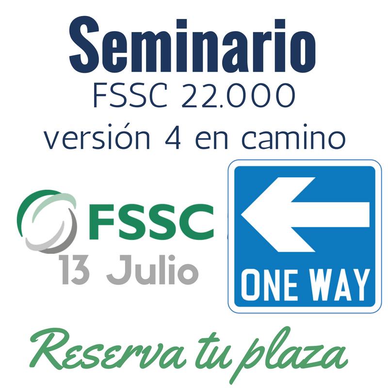 FSSC 22000 versión 4