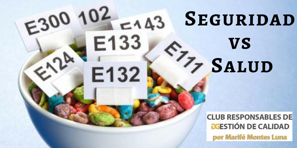 Alimentos en el punto de mira de seguridad y salud. Club Responsables